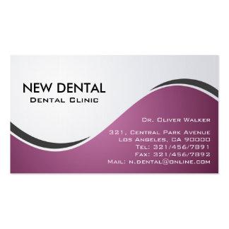 Dentista - cartões de visitas