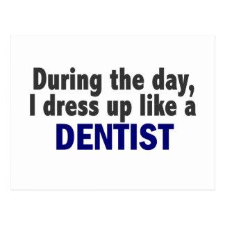 Dentista durante o dia cartao postal