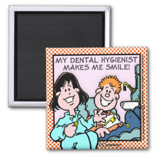 Dentista Ímã Quadrado