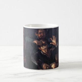Dentista medieval 1607 caneca de café