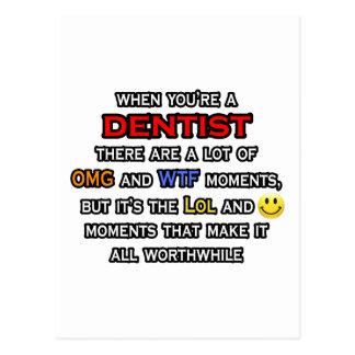 Dentista… OMG WTF LOL Cartao Postal