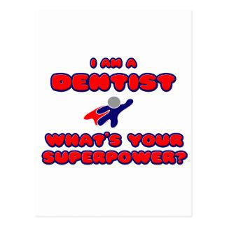 Dentista. Que é sua superpotência? Cartão Postal