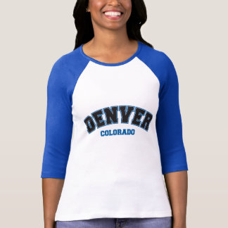 Denver escolar camiseta