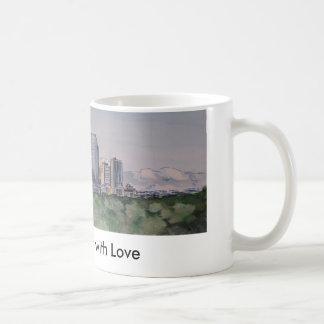 DenverSkyLine, de Denver com amor Caneca De Café