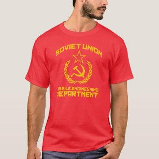 Departamento de engenharia do míssil de União Camiseta