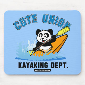 Departamento Kayaking da união bonito Mousepads