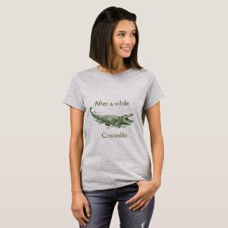 Depois de algum tempo, camisa do crocodilo