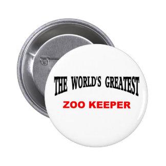 Depositário de jardim zoológico do mundo o grande bóton redondo 5.08cm