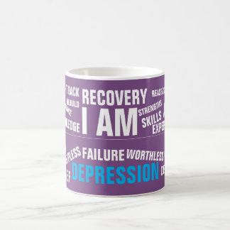 Depressão - caneca das citações