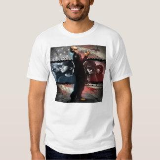 Depressão de Hip Hop Tshirt