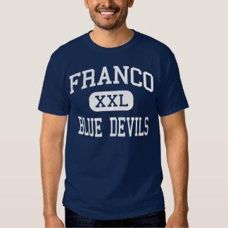 Depressão nervosa Presidio médio Texas de Franco Camiseta