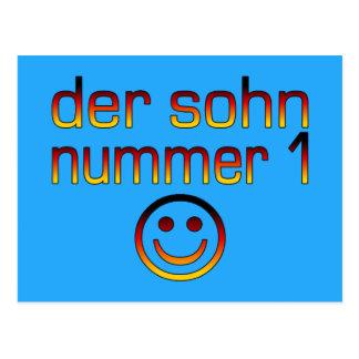 Der Sohn Nummer 1 - filho do número 1 no alemão Cartões Postais