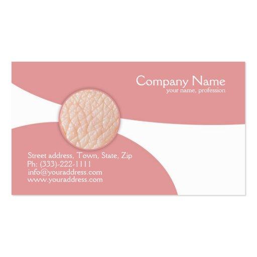 Dermatologista - doutor de pele cartão de visita