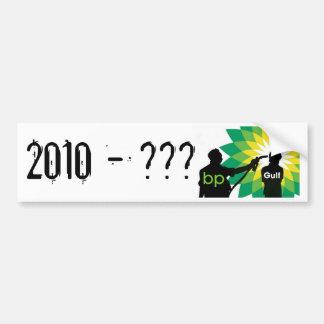 Derramar de óleo de BP: 2010 -? Adesivo Para Carro