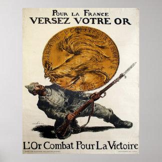 Derrame o La France Poster