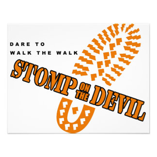 Desafio a andar a caminhada… convite personalizados