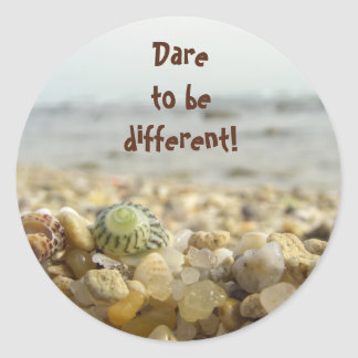 Desafio a ser diferente adesivo