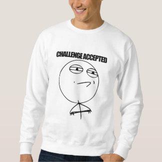 Desafio aceitado moleton