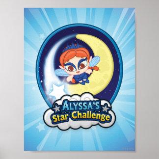 Desafio da estrela de Alyssa Poster
