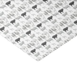 Desafio das ovelhas negras a ser lenço de papel
