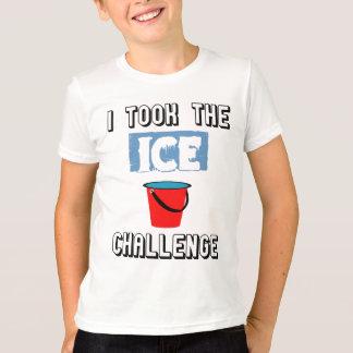 Desafio do balde de gelo do ALS Camiseta