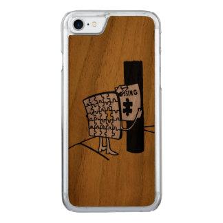 Desaparecidos do quebra-cabeça capa iPhone 8/ 7 carved