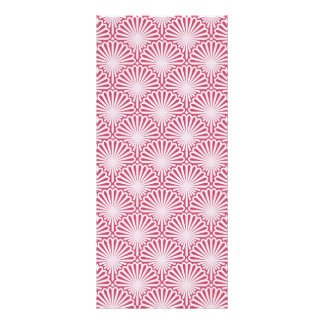 Descasca o teste padrão dos trabalhos de arte 10.16 x 22.86cm panfleto