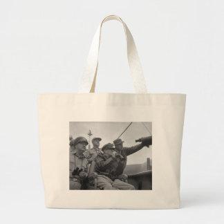 Descascamento do general Douglas MacArthur de Inch Sacola Tote Jumbo