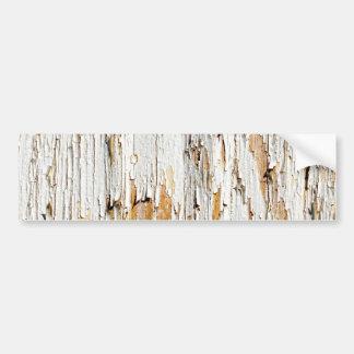 Descascando o abstrato branco da pintura adesivos