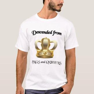 Descido dos reis e do Queens Camiseta