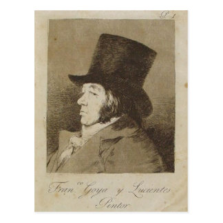 Descrição Capricho n de Sumario? 1: Francisco Goya Cartão Postal