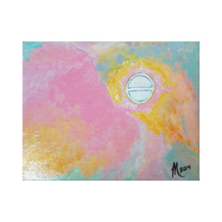 Descrição do artista da cirurgia da catarata impressão de canvas esticadas