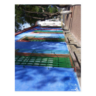 Descrição sumária Espa? ol: azul de Frida Ka das Cartão Postal