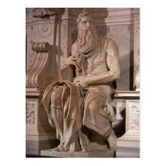 Descrição sumária Michelangelo Buonarroti: Mose Cartoes Postais