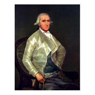 Descrição sumária Retrato de Francisco Bayeu Dat Cartão Postal