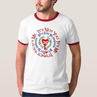 Desculpas más da dissolução tshirt