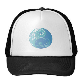 Desdobramento Yin & Yang (azuis da terra) Bonés