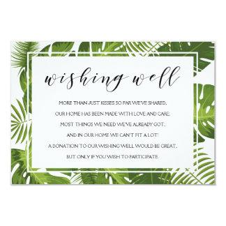 Desejando a cartão bom   o casamento tropical