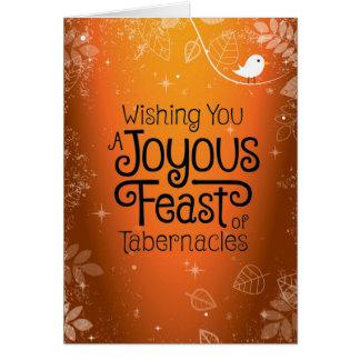 Desejando lhe um cartão feliz do banquete