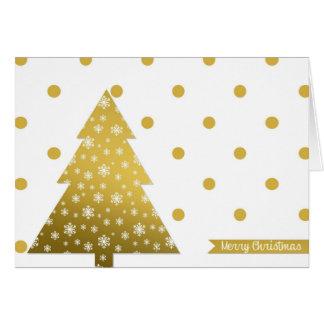 Desejando lhe uma época natalícia feliz cartão comemorativo