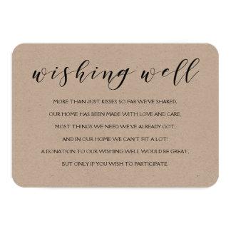 Desejando o cartão bom da inserção do casamento
