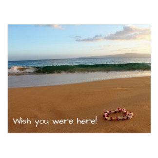 Desejo do cartão de Maui você estava aqui!