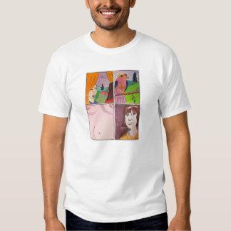 Desejo para o t-shirt do branco do Propinquity