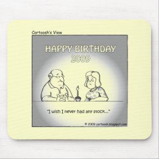 Desejo para seu aniversário 2009 mouse pad