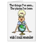 Desejo que eu poderia recordar cartoes