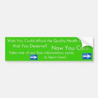 Desejo você poderia ter recursos para… a etiqueta  adesivo para carro