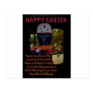 Desejos da fé e da esperança do amor do felz cartão postal