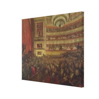 """Desempenho de """"Hernani"""" por Victor Hugo Impressão Em Tela Canvas"""