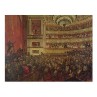 "Desempenho de ""Hernani"" por Victor Hugo Cartoes Postais"