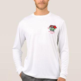 Desempenho T - Luva longa Camiseta